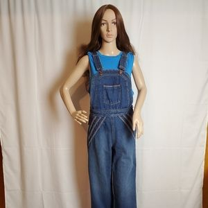 Free People Chasing Rainbows Overalls in a size 4